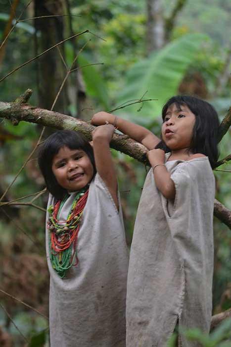 Nuestros niños indigenas