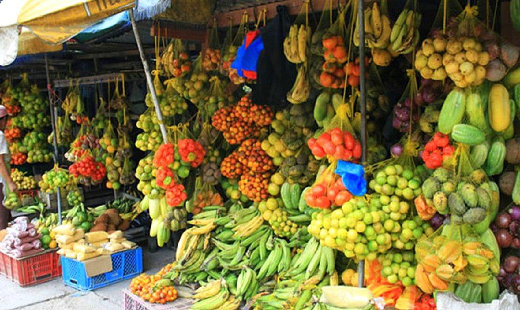 Frutas variedad en taganga